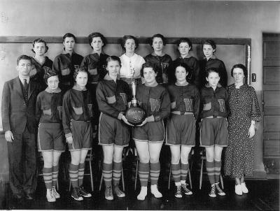 girls westville basketball 1936
